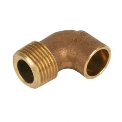 """End Feed Male Iron Elbow 28mm x 1"""""""