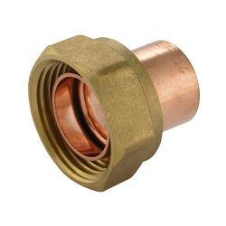 "End Feed Straight Cylinder Adaptor 22mm x 1"""