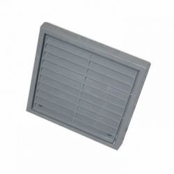 """Fixed Wall Grille 100mm / 4"""" - Grey"""