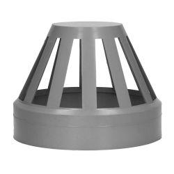 Grey 110mm Pushfit Soil Cage Vent Cowl
