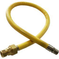 Hobflex 1 Meter Semi Rigid Gas Hob Connector
