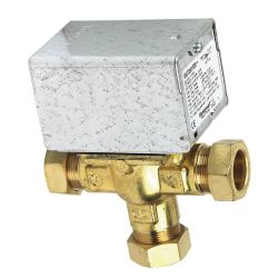 Honeywell V4073A 28mm 3 Port Motorised Zone Valve