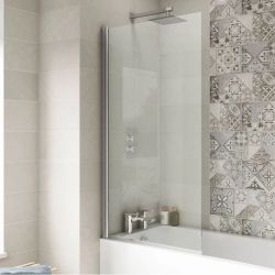 Hudson Reed 6mm Square Bath Screen