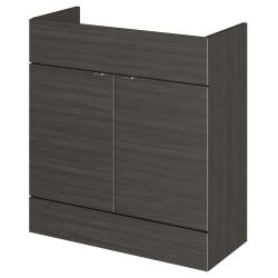 Hudson Reed Fusion Hacienda Black 800mm Fitted Vanity Unit