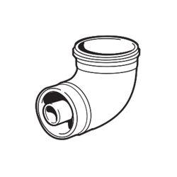 Ideal 90 Degree Flue Elbow