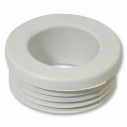 Internal Plastic WC Connector For Flush Pipes