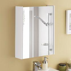 Kartell Jubilee 550mm Mirror Cabinet 145mm Deep