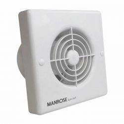 "Manrose Quiet Standard Extractor Fan 100mm / 4"""
