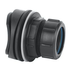 McAlpine Black Mechanical Soil / RW Boss to Suit 32mm pipe