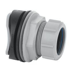 McAlpine Grey Mechanical Soil / RW Boss to Suit 32mm pipe