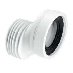 McAlpine WC-CON4A 110mm 40mm Offset Rigid WC Connector