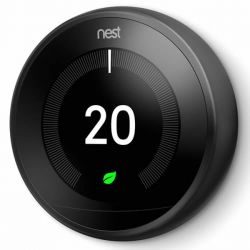 Nest T3019GB Black 3rd Generation Learning Thermostat