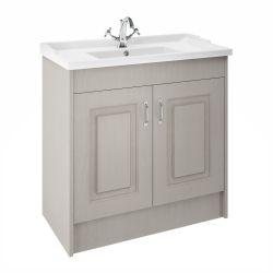 Nuie Traditional York 1000mm Basin Unit - Stone Grey