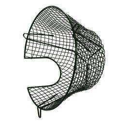 """Plastic Coated Circular Plume Kit Terminal Guard 250mm Diameter x 125mm Depth ( 10"""" x4.5"""")"""