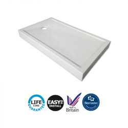 Contour Prinia 1200mm x 700mm Step-In 110mm High Shower Tray
