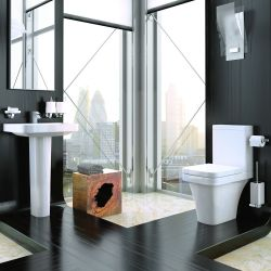 Kartell Sicily Close Coupled Toilet & Basin Suite