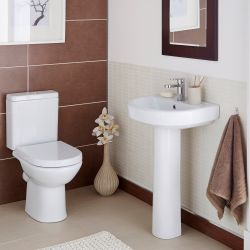 Kartell Ratio Close Coupled Toilet & Basin Suite