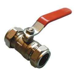15mm Red Compression Lever Valve For Water