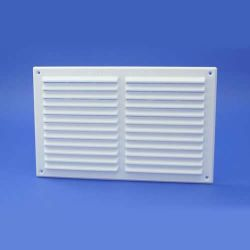 "Rytons 9"" x 6"" Louvre Vent Grille White"