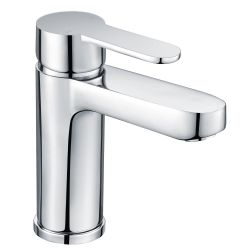 Lou-Lou Mono Basin Mixer with Push Button Waste