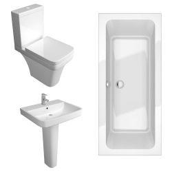 Kartell Sicily Bathroom Suite with Double Ended Bath