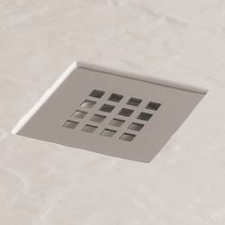 Chrome Waste and Grill for MX Mineral Slate Effect Shower Tray