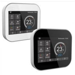 Snug Black Touch Screen Electronic Thermostat