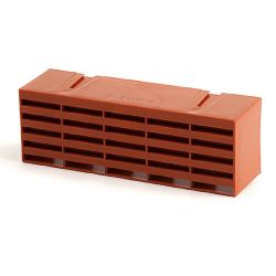 "Standard 9"" x 3"" Multifix Air Brick Terracotta"