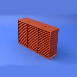 "Rytons MFAB96TC 9"" x 6"" Multifix Air Brick Terracotta"