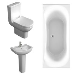 Kartell Studio Bathroom Suite with Double Ended Bath