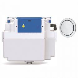 Vantage Single Flush Concealed Cistern -  73.5mm Button