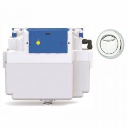 Vantage Dual Flush Concealed Cistern  - 51mm Dio Button