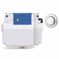 Vantage Single Flush Concealed Cistern  - 51mm Royal Button