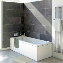Trojan Bathe Easy Cascade 1700mm x 700mm Easy Access Bath - Left Hand