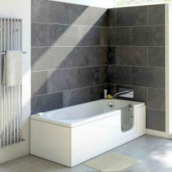 Trojan Bathe Easy Cascade 1700mm x 700mm Easy Access Bath - Right Hand
