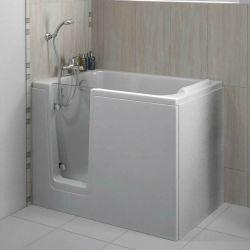 Trojan Bathe Easy Comfort 1210mm x 650mm Deep Soak Walk-In Bath - Left Hand