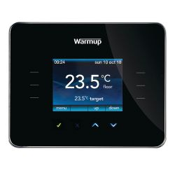 Warmup 3iE Programmable Thermostat - Piano Black