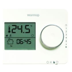 Warmup Tempo Digital Programmable Thermostat - Porcelain White