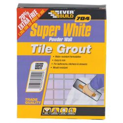 White Powder Wall Tile Grout 1Kg