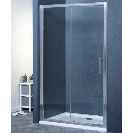 SINGLE SLIDING DOOR SHOWER ENCLOSURE SIZE 1700mm