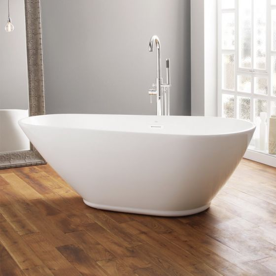 April Danby Contemporary Freestanding Bath 1740mm x 820mm