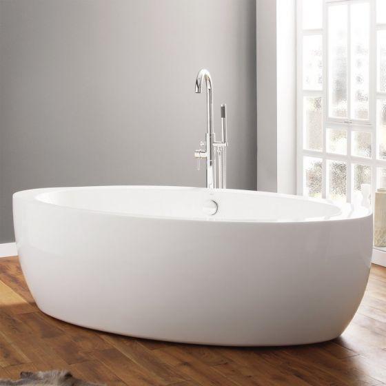April Halton Contemporary Freestanding Bath 1850mm x 910mm