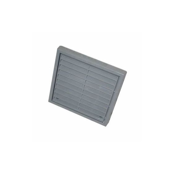 "Fixed Wall Grille 100mm / 4"" - Grey"