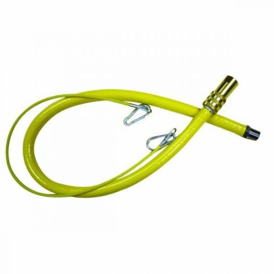 "Catering Cooker Hose 1/2"" x 1000mm Long"