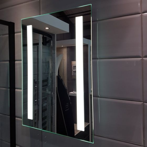 KALA 450mm x 800mm LED Mirror with Shaver Socket & Touch Switch