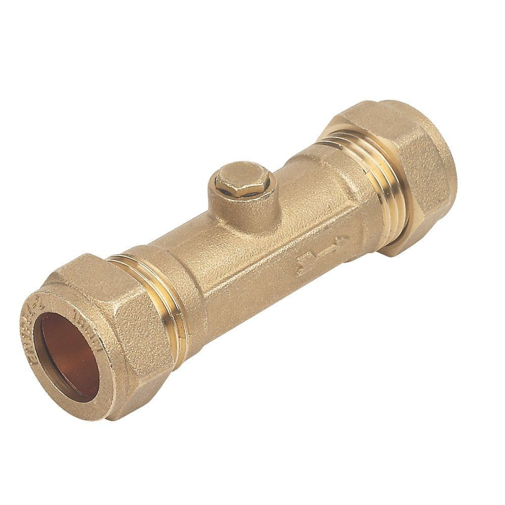 Mm double check valve