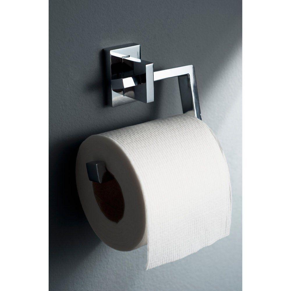 Edge Chrome Toilet Roll Holder