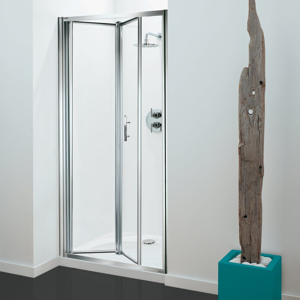 Optima 3 Sided Shower Enclosure - 900mm Bifold Door and 900mm Side ...