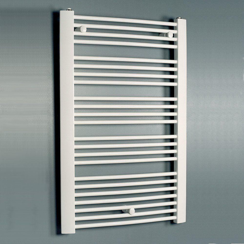 White Bathroom Radiators: Eucotherm White Pollux Towel Radiator 1742mm X 600mm