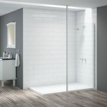 Merlyn Vivid Wetroom 3mtr Vertical Post DIEX0016